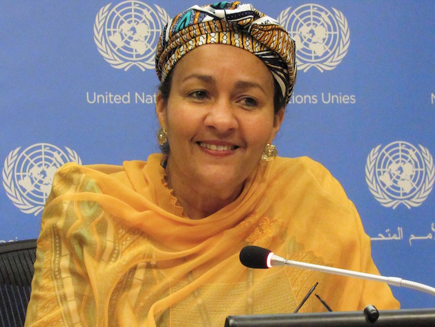 Photo: Nigeria's Environment Minister Amina Mohammed. Credit: Premium Times.