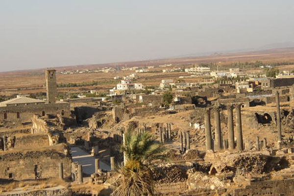 Ancient City of Bosra, Syrian, World Heritage site. Photo: ©UNESCO/Véronique Dauge