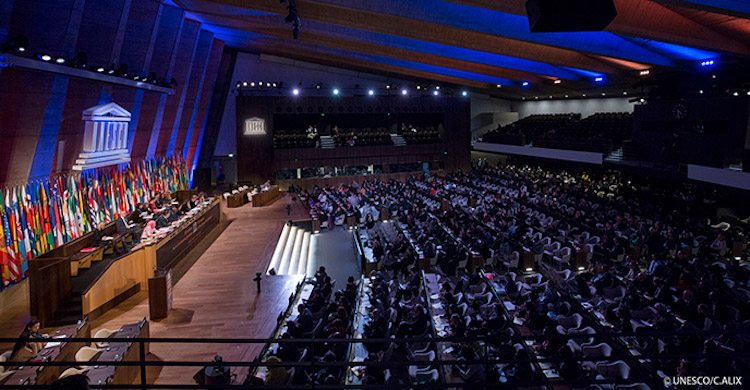 Photo: UNESCO's General Conference. Credit: UNESCO