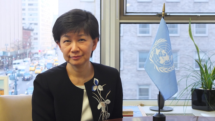 Photo: Izumi Nakamitsu, the UN High Representative for Disarmament Affairs (UNODA). Credit: UNODA