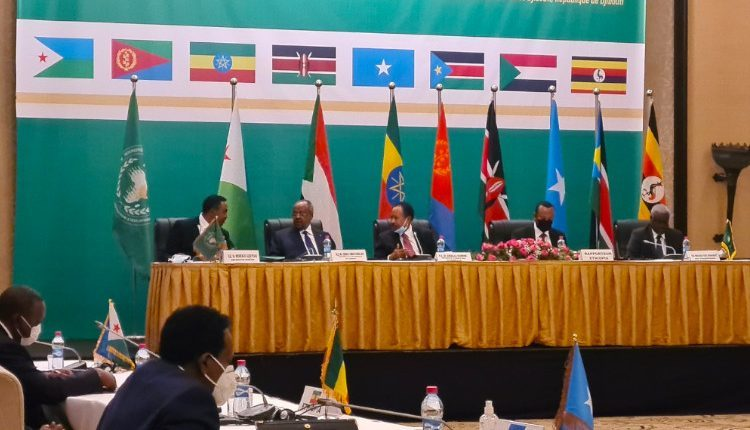 Photo: PM Abiy Ahmed participates in the 38th Extraordinary Summit of IGAD. Source: fanabc.com