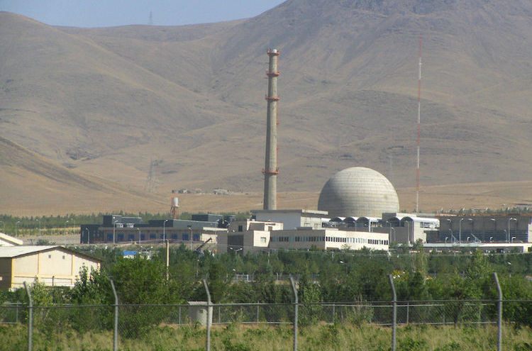 Photo: Iran has warned that if the other 2015 nuclear deal signatories fail to deliver sanctions relief, it will resume construction on the unfinished Arak nuclear reactor. The picture shows IR-40 (Arak) Reactor in 2012. CC BY-SA 3.0