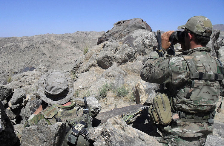 Photo: Two Australian soldiers during the Shah Wali Kot Offensive in Afghanistan. CC BY 2.0