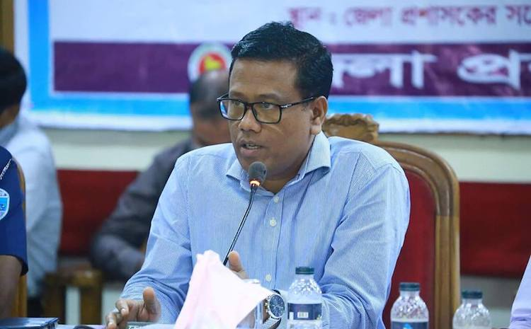 Photo: Cox's Bazar deputy commissioner Md Kamal Hossain.