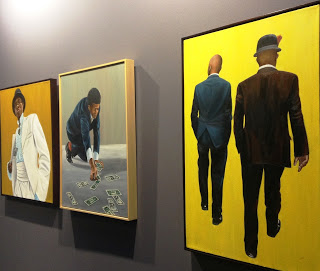 Image: Paintings from Ebony Curated gallery at AKAA.