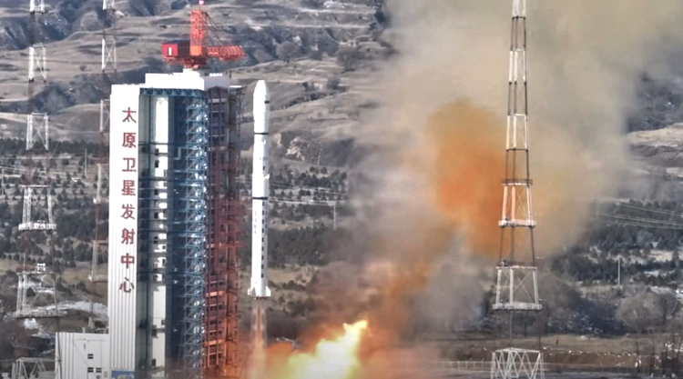 Photo: The first Ethiopian satellite launch by China. Source: SatNews