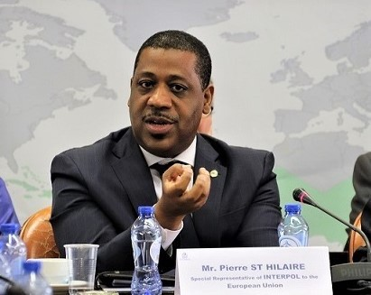 INTERPOL special representative to the European Union Pierre St. Hilaire