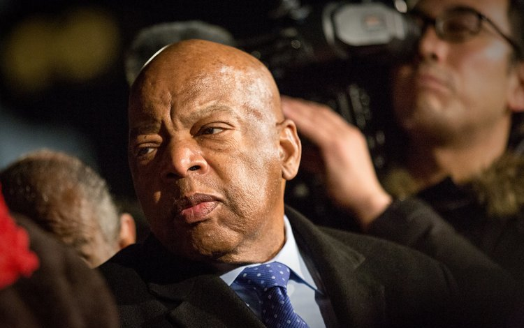 Photo: Rep. John Lewis, Washington DC, January 31, 2017. Credit: Flickr/Lorie Shaull. CC BY-SA 2.0