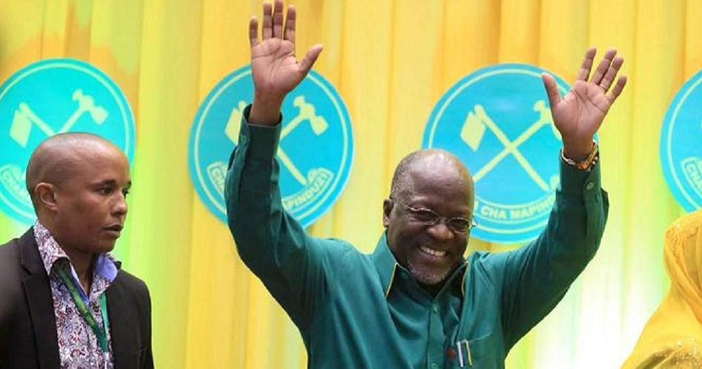 Photo: John Magufuli. Source: Africanews