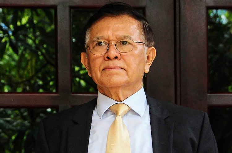 Photo: Kem Sokha, who most recently served as the President of the Cambodia National Rescue Party (CNRP), was arrested and imprisoned at a detention centre in Tbong Khmum Province on 3 September 2017 under allegations of treason. He was released from house arrest on 11 November 2019. Source: Wikimedia Commons.