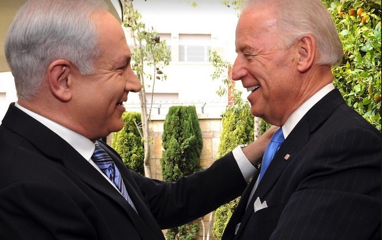 Photo: Israeli PM Benjamin Netanyahu with the then US Vice President Joe Biden. Source: The Times of Israel.