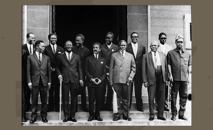 Photo: Founding fathers of the Organisation of African Unity (OAU), 1963. Source: thisisafrica