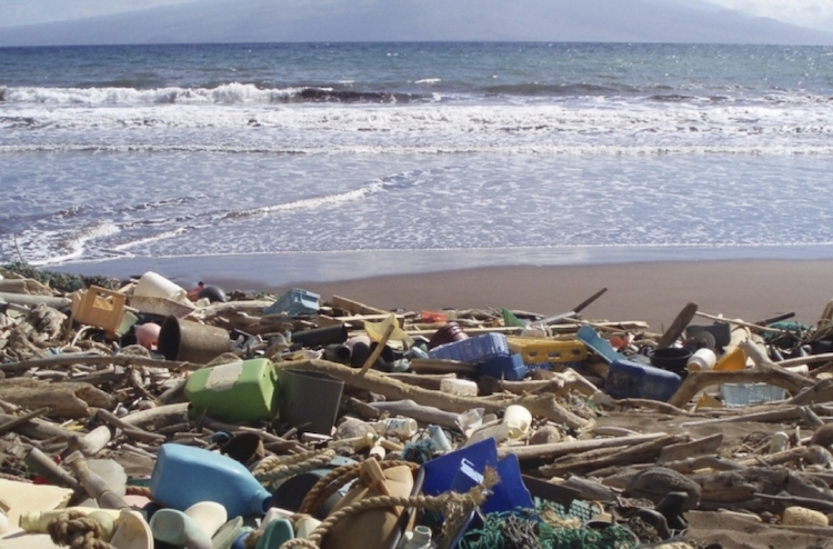 Photo: Plastic waste on a beach in Hawaii. Credit: NOAA