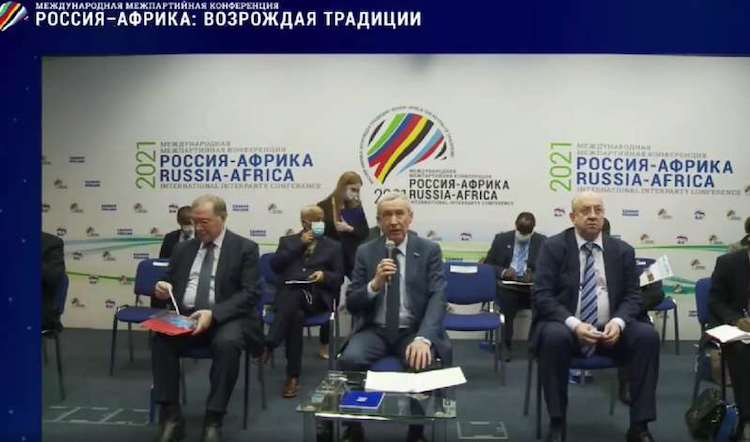 Photo: Russia-Africa Interparty Cooperation forum.