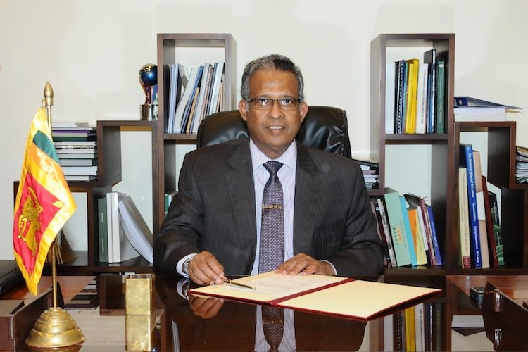 Photo: Sri Lanka's Foreign Secretary Prasad Kariyawasam. Credit: Ministry of Foreign Affairs Sri Lanka.