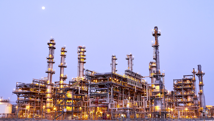 Photo: Sadara, Saudi Aramco's joint venture with Dow Chemical Company, which is the world's largest petrochemical complex ever built at one time. Credit: Aramco