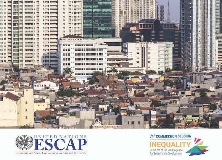 Image: Cover (cropped) of Report on Inequality in Asia-Pacific. Credit. UNESCAP.