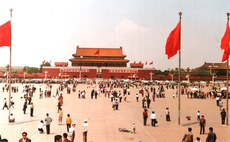 Photo: In Tiananmen Square protests Beijing in 1989 the hopes of a mass democratic movement and the possibility that it would generate a workers' and people's movement of the Solidarność type were massacred. CC BY-SA 3.0