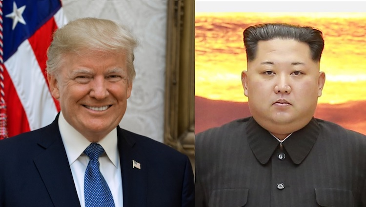 Image: Montage of Trump and Kim. Credit: Wikimedia Commons