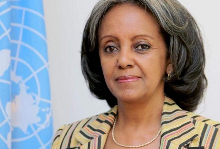 Photo: New Ethiopian President Sahle-Work Zewde. Credit: The Star, Kenya.