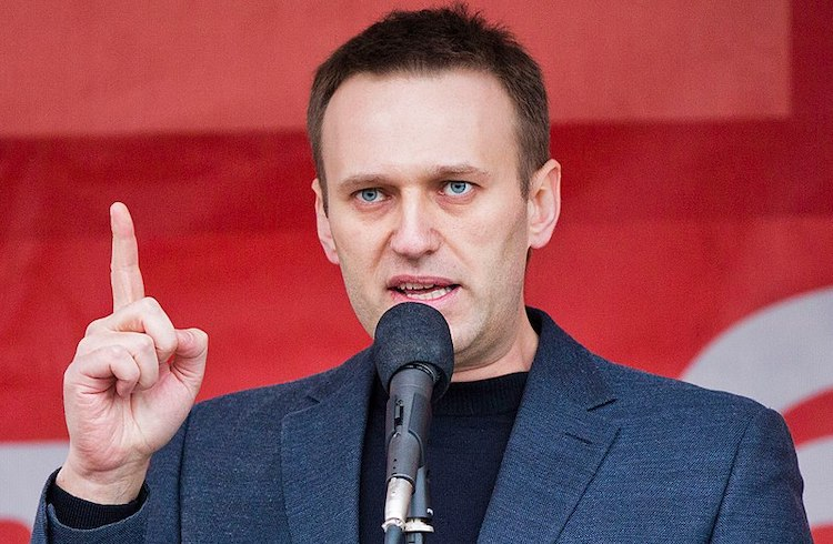 Photo: Russian opposition leader Alexei Navalny. Source: Wikimedia Commons