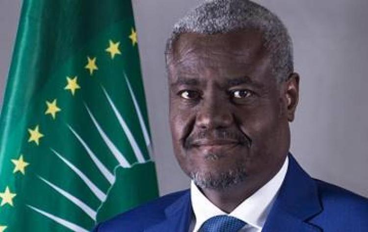 Photo: The African Union Commission Chairperson, Moussa Faki Mahamat. Source: African Union