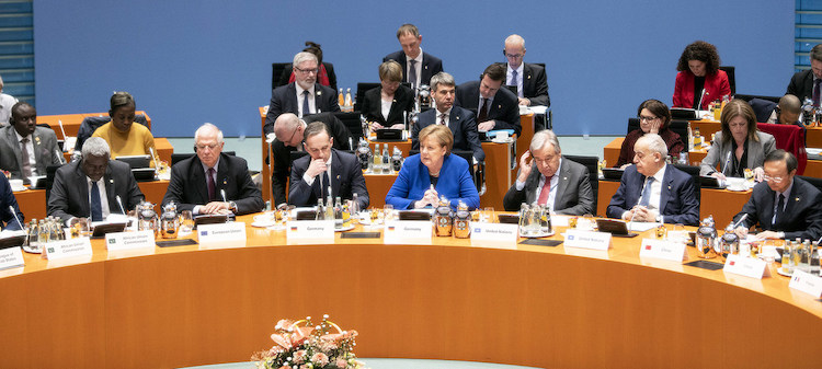 [IDN-InDepthNews – 20 January 2020] Photo: The German Chancellor, Angela Merkel, addresses the Berlin Conference on Libya alongside the UN Secretary-General António Guterres (r). Credit: Federal Government/Guido Bergmann.