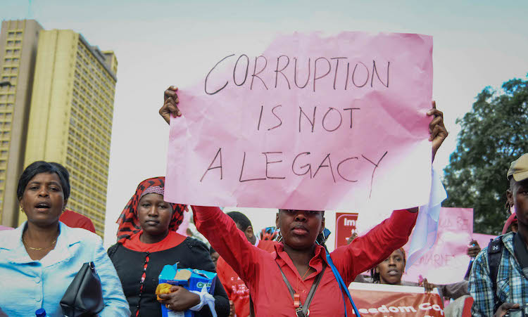 Photo: Sub-Saharan Africa: undemocratic regimes undermine anti-corruption efforts. Source: Transparency International