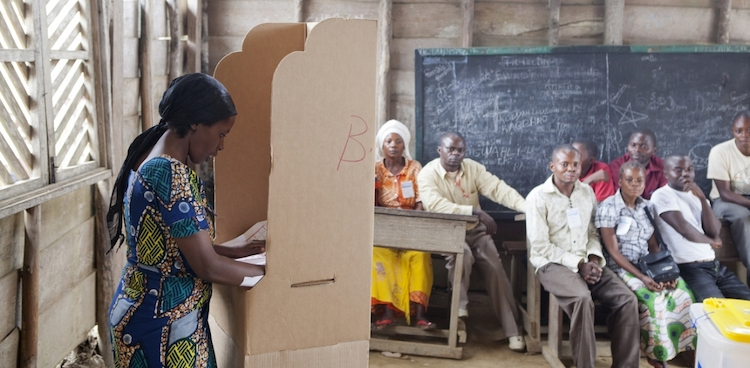 Photo: Presidential and legislative elections in DR Congo. Credit: Africa Renewal.