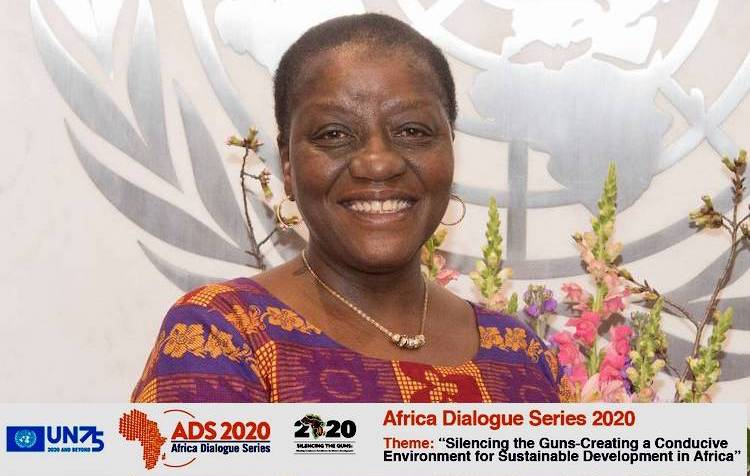 Photo: UN Under-Secretary-General and Special Adviser on Africa Ms. Bience Gawanas. Source: OSAA Website.