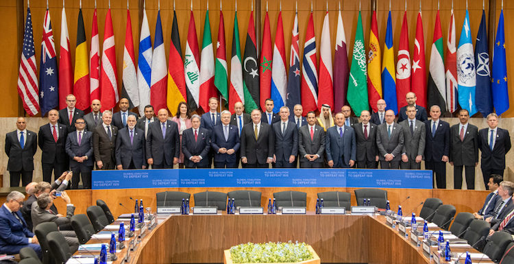 Photo: Partners in the Global Coalition to Defeat Daesh.