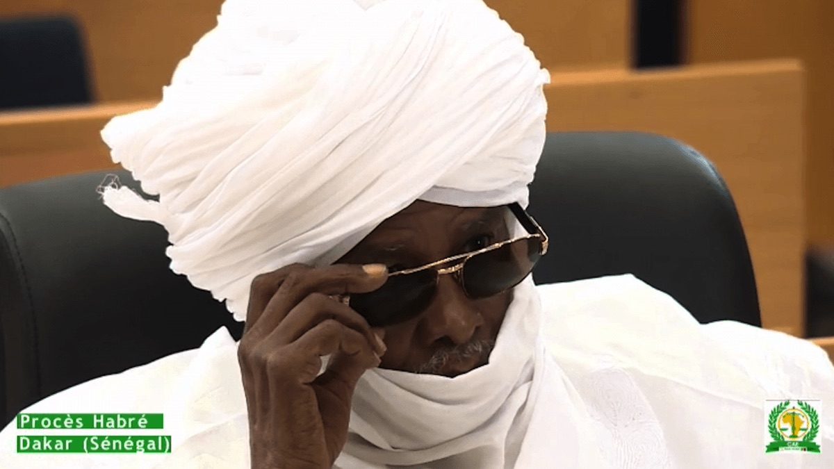 Photo: On May 30, 2016, former Chadian dictator Hissène Habré was convicted of crimes against humanity, war crimes, and torture, including sexual violence and rape, by the Extraordinary African Chambers in the Senegalese court system and sentenced to life in prison.Source: Human Rights Watch.