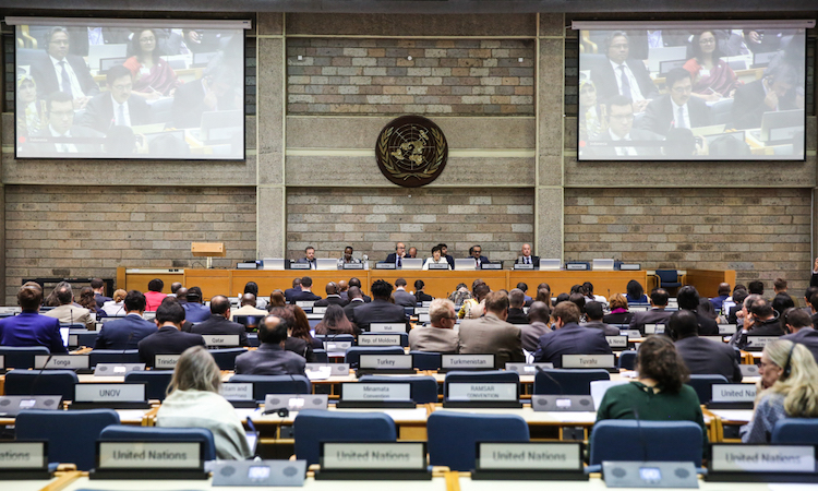 Photo: The conference room at the UN Office, Nairobi. Credit: ENB | IISD