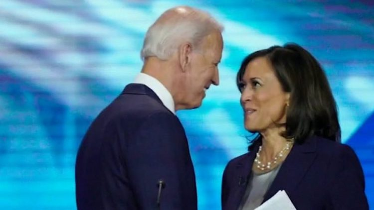 Photo: US Democratic Party's 2020 presidential candidate Joe Biden with Kamala Harris, nominated as vice-presidential candidate. Courtesy: The Bay Observer.