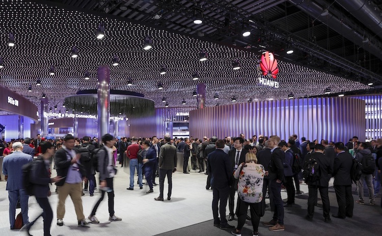 Photo: Huawei at Mobile World Congress 2019 in Barcelona. Credit: Huawei