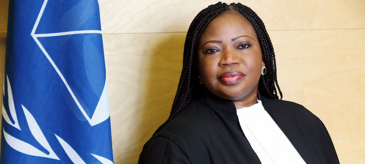 Photo: International Criminal Court Chief Prosecutor Fatou Bensouda. Credit: ICC