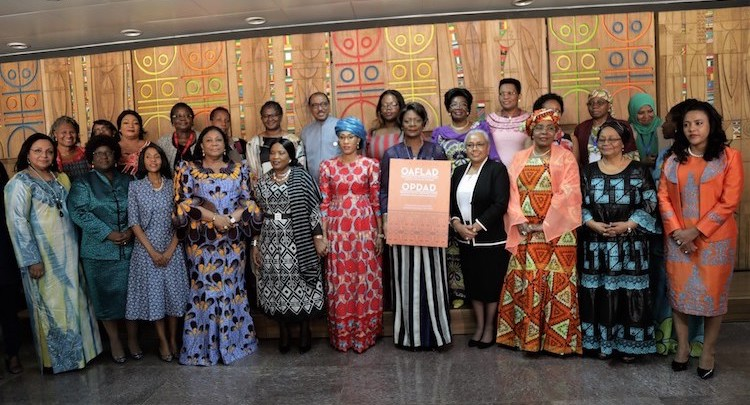 Photo: African First Ladies. Credit: African Union Commission.