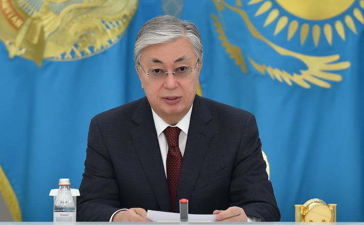 Photo: Kazakh President Kassym-Jomart Tokayev. Source: Kazakh Permanent Mission to the UN in New York.
