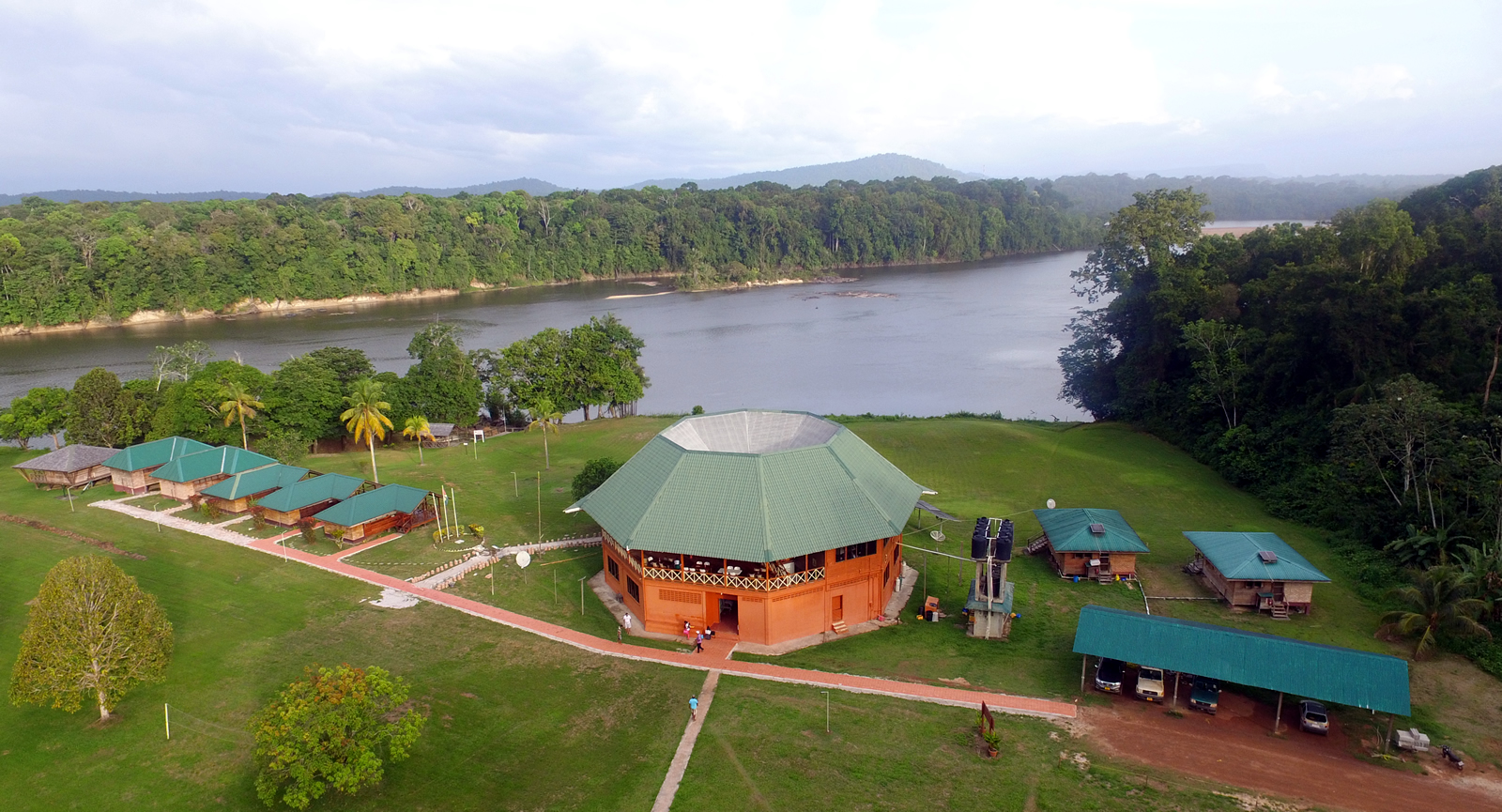 Photo: Iwokrama forest in Guyana. Credit: Iwokrama International Centre for Rainforest Conservation and Development.