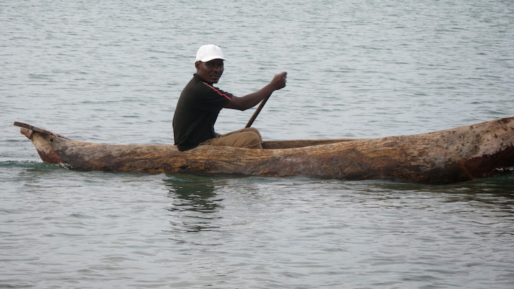 Photo: An unidentified fisherman. Credit: Juma Mtanda.