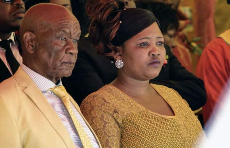 Photo: Lesotho's Prime Minister Thomas Thabane and First Lady Maesaiah Thabane. Source: CGTN