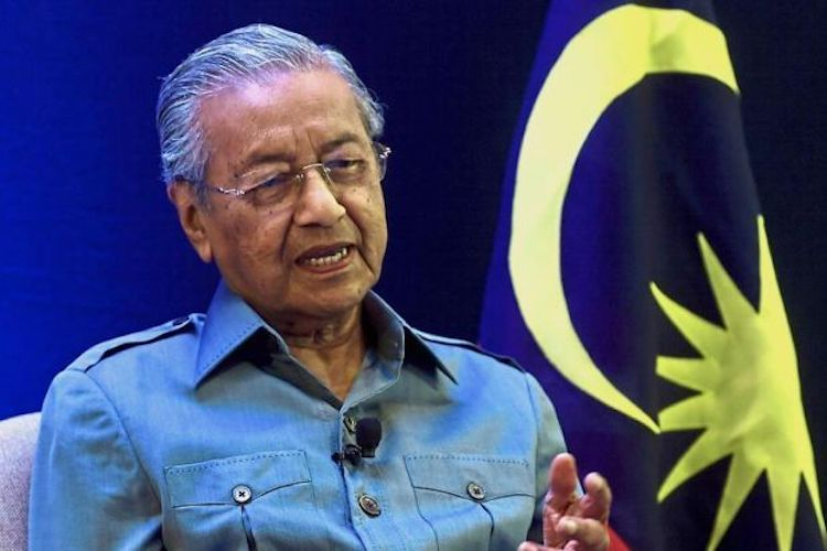 Photo: Dr Mahathir Mohamad. Credit: The Star