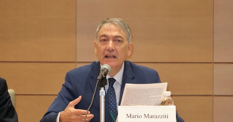 Photo: Mario Marazziti, co-founder of the World Coalition Against the Death Penalty in 2002 and Member of the Italian Chamber of Deputies. Credit: Katsuhiro Asagiri | INPS-IDN Multimedia Director.