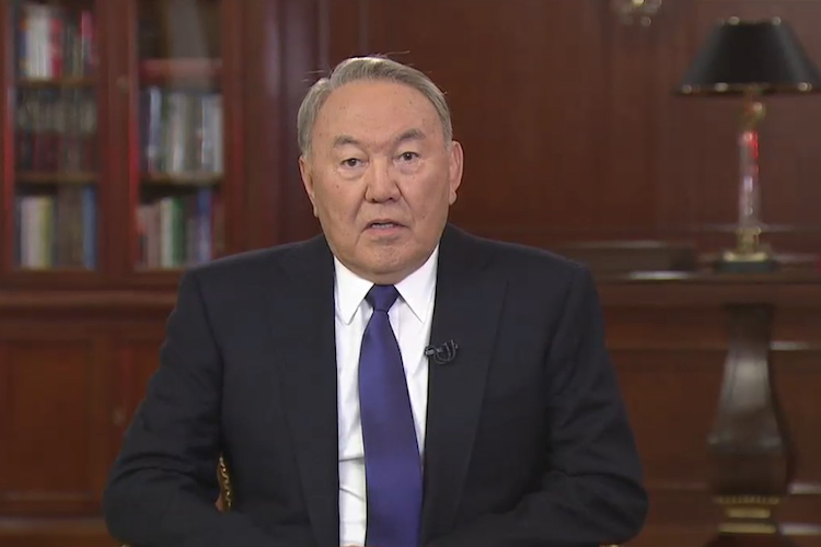 Photo: Kazakh President Nazarbayev. Credit: KazInform
