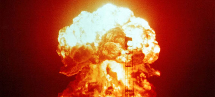Photo: Nuclear test carried out on 18 April 1953 at the Nevada test site. Source: UN News.