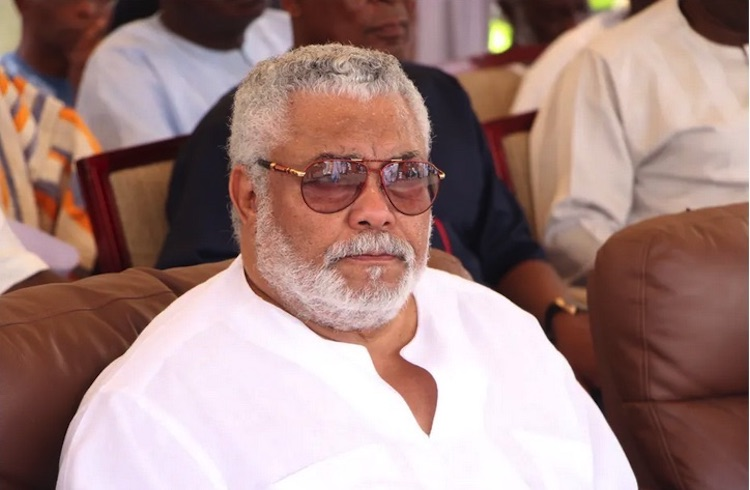 Photo: The late Ghana President Jerry Rawlings sitting at a public function. The second phase of Ghana's post-colonial history – from 1981 – is intensely controversial, centring on Rawlings himself. Source: Jerry John Rawlings Facebook
