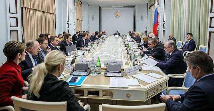 Photo:  On March 19, 2019 under the Chairmanship of Yury Ushakov, an Aide to the Russian President Vladimir Putin, the Organizing Committee on Russia-Africa held its first meeting in Moscow. But the two sides known very little about each other. Credit: Modern Diplomacy