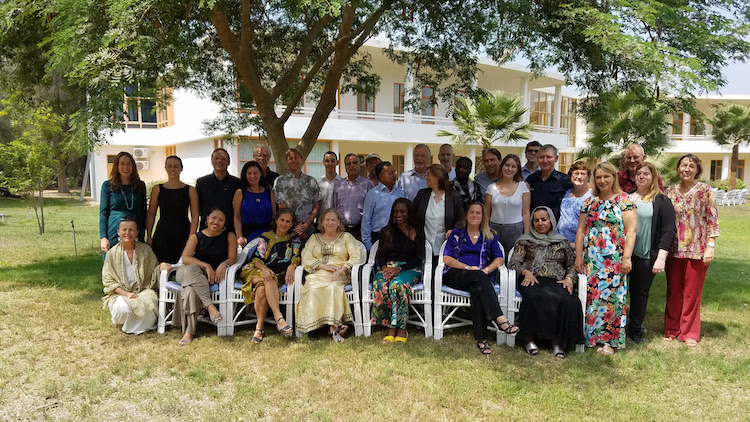 Photo: Gathering of WFC Councillors and recipients of Alternative Nobel Prize from 13 to 15 September at SEKEM, Egypt. Credit: SEKEM