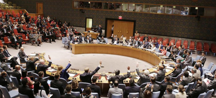 Photo: The UN membership considered the 2015 Iran deal to be very fair. The Security Council gave it unanimous support. Indeed, the U.S. is now in breach of international law by opting out. Credit: UN Photo.