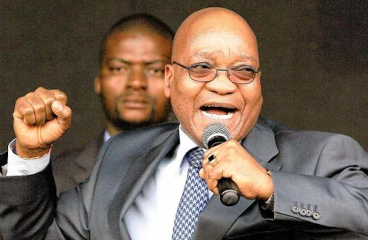 Photo: Former president Jacob Zuma. Credit: Bonile Bam